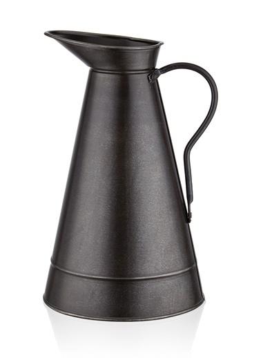 The Mia Dekor Güğüm 42 x 25 Cm - Siyah Siyah